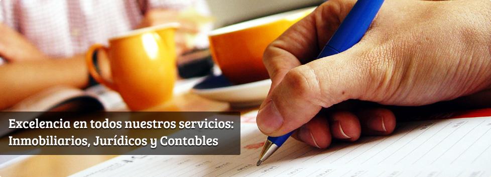 Excelencia en todos nuestros servicios: Inmobiliarios, Juridicos y Contables