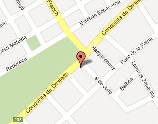 Mapa Ezeiza
